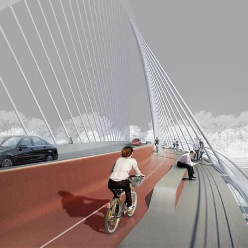 Ponte e Passarela em Blumenau